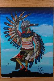 Native American Paintings Jewelry