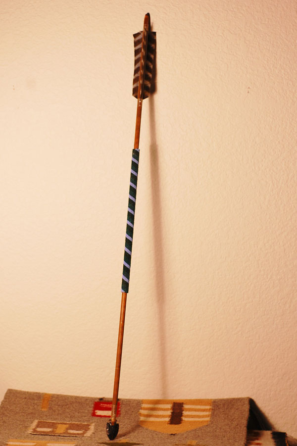 Chippewa - Beaded Arrow by Bill Miller and Cindy Mouta - Chippewa
