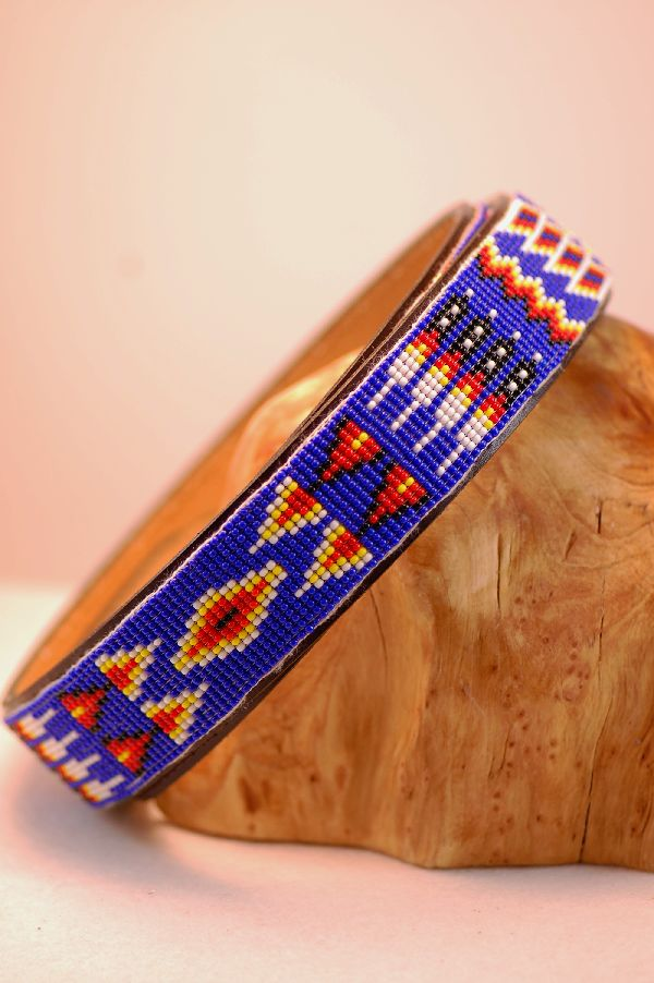 Navajo � Exquisite Multi-Colored Seed Bead Belt by Joann Toledo
