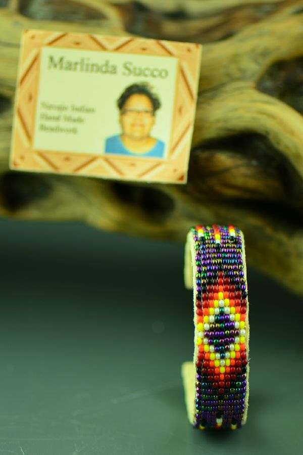 Childs Navajo Beaded Bracelet by Marlinda Succo