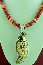 Native American Gold Pendants Jewelry