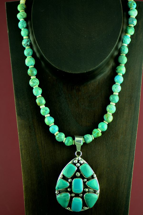 devon necklace turquoise jewellery products white and leigh pearl