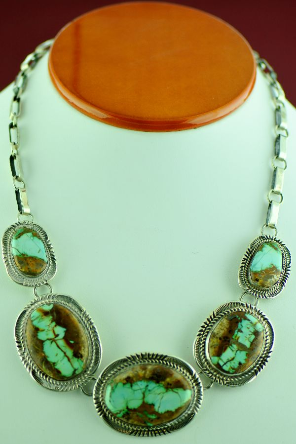 Will denetdale natural royston blue ribbon necklace for Royston ribbon turquoise jewelry