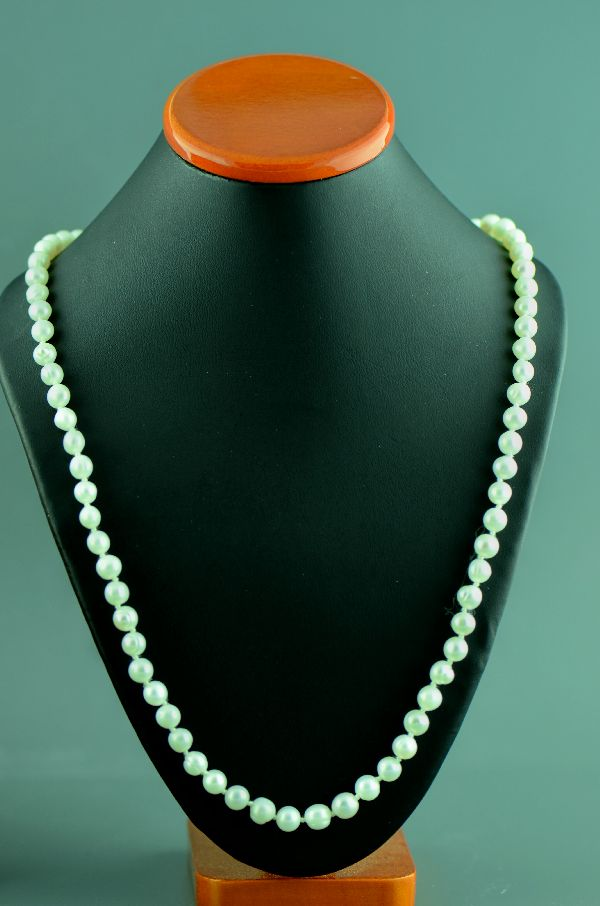 Navajo �14KT Gold Fresh Water Pearl Necklace by Mary Begay