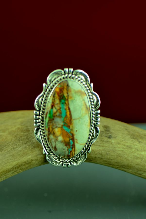 Navajo Blue Ribbon Turquoise Rings