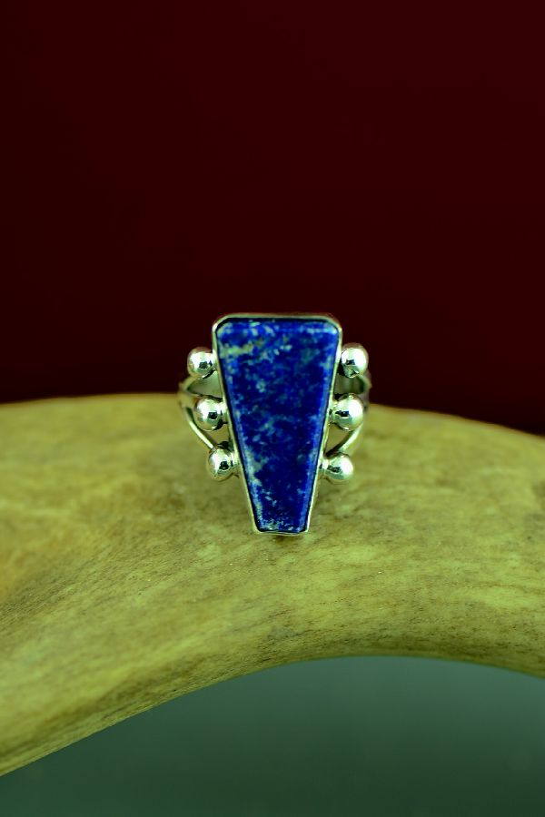 Lapis Navajo Sterling Silver Ring