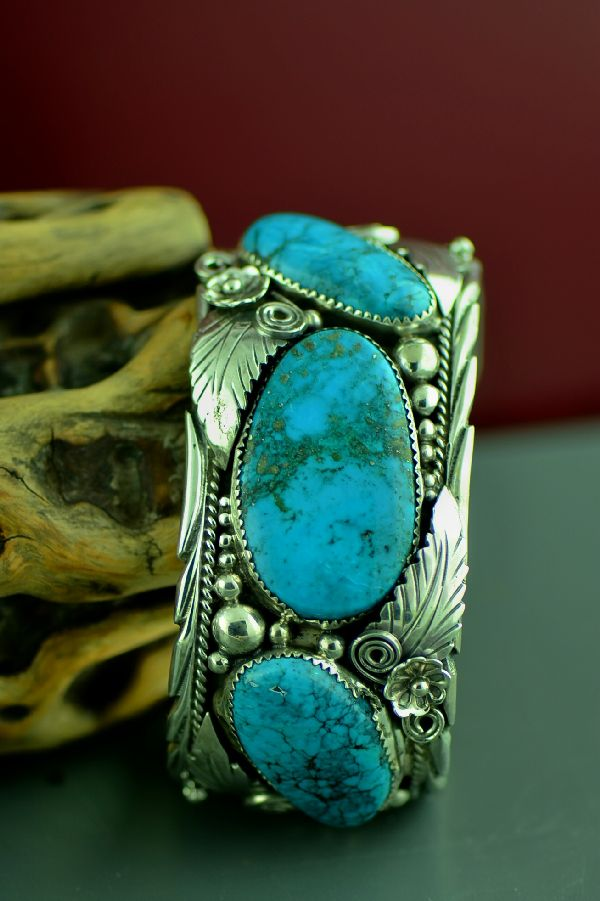 turquoise hoel s shop american platero art jewelry bracelet indian navajo native mckee