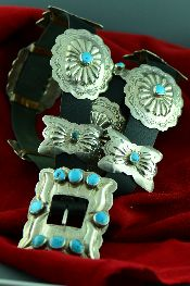 Native American Concho Belts Jewelry