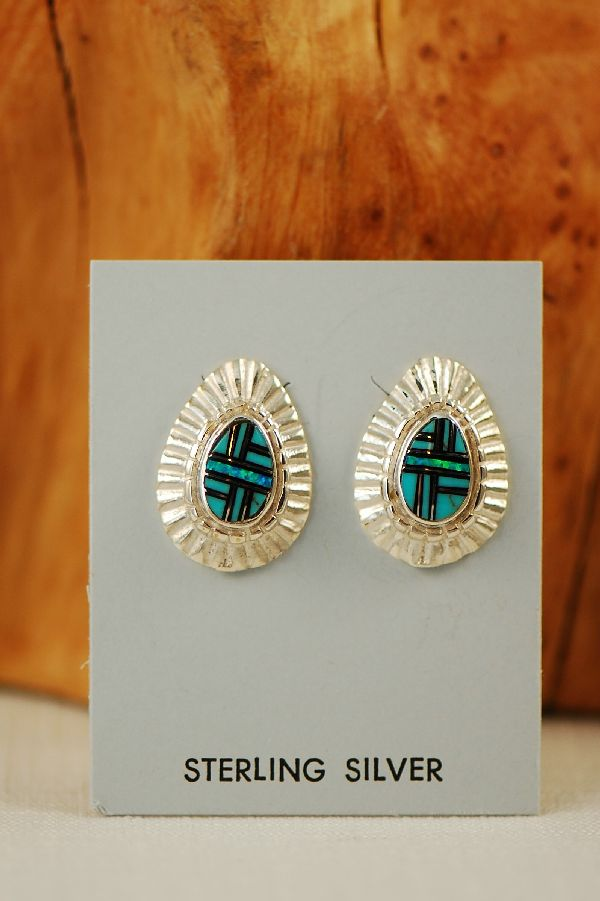 Navajo Opal Earrings