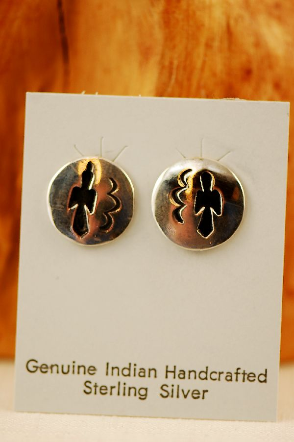 Navajo Phoenix Bird Earrings