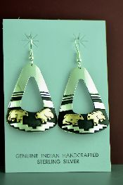 Native American Gold Earrings Jewelry