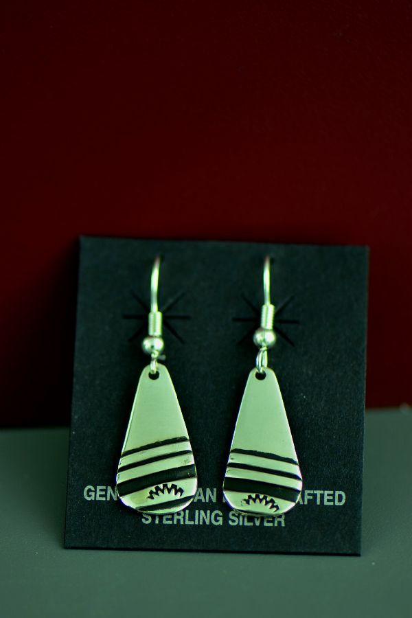 Traditional Silver Tommy Singer Earrings