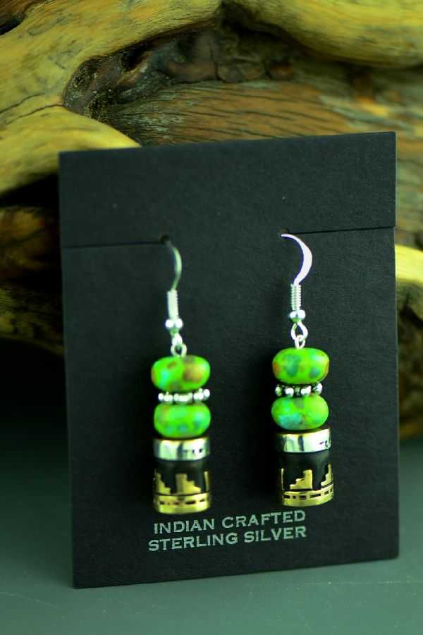 Rosita Singer Gaspeite Earrings
