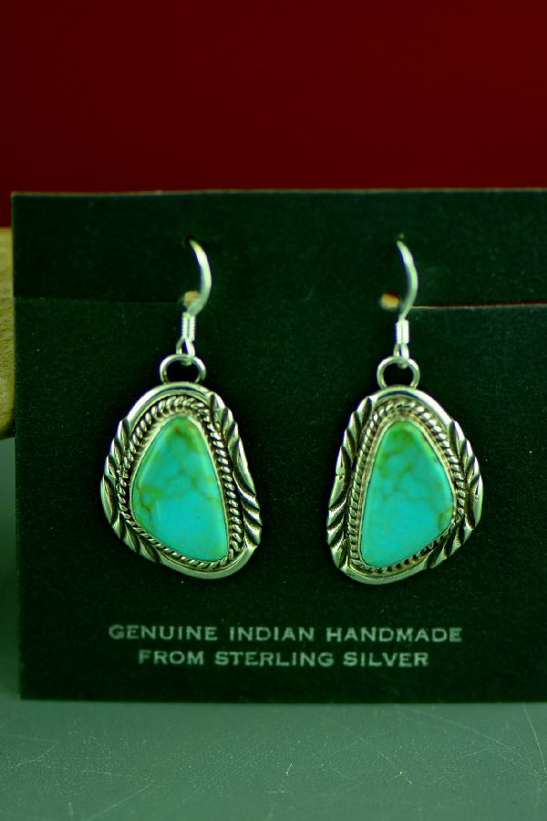 Will Denetdale Royston Turquoise Earrings