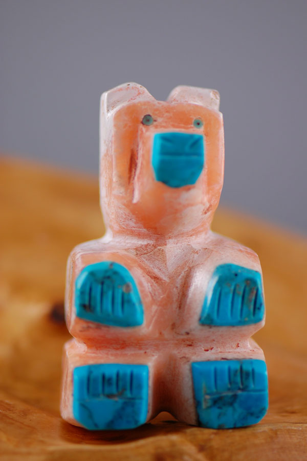 Navajo – Hand Carved Soapstone Bear Fetish by Florita Mitchell
