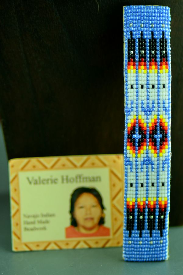 Navajo Prayer Feather Beaded Hair Piece-Barrette by Valerie Hoffman