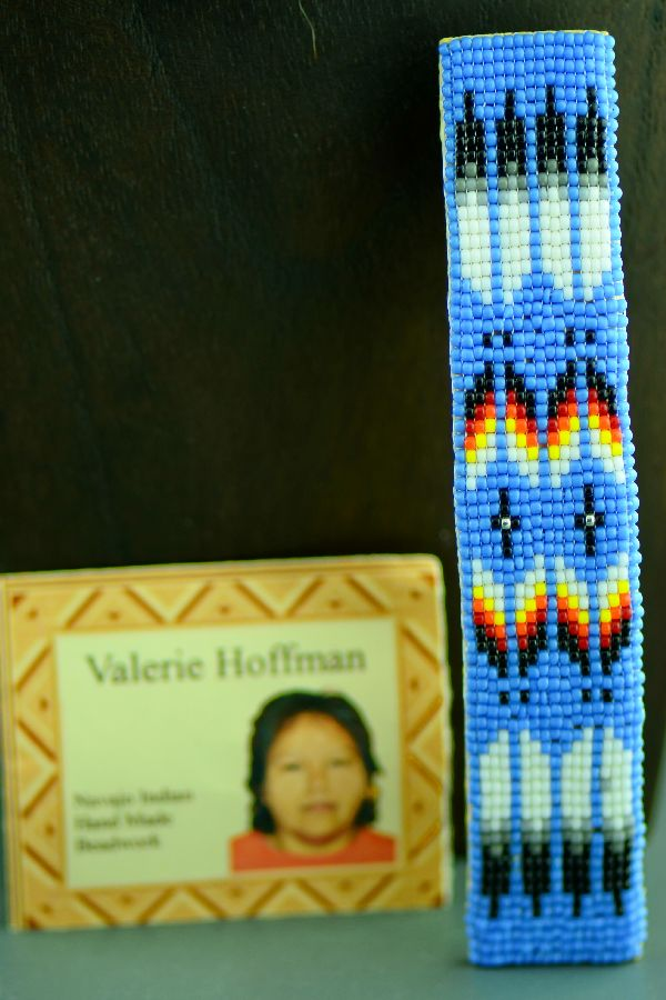 Navajo Beaded Prayer Feather Hair Piece/Barrette by Valerie Hoffman