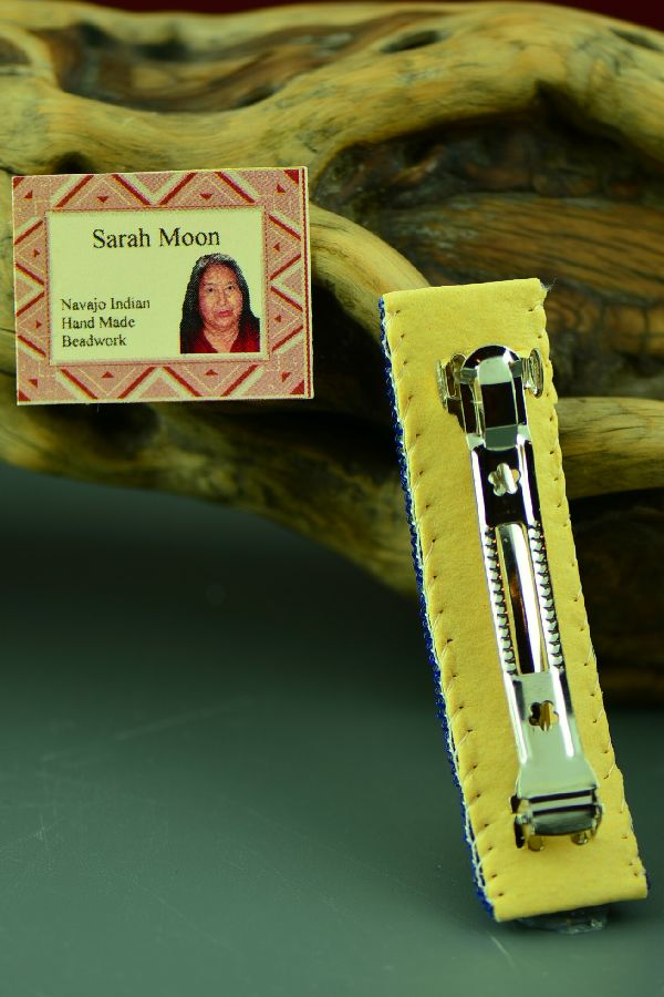 Navajo Beaded Barrette by Sarah Moon