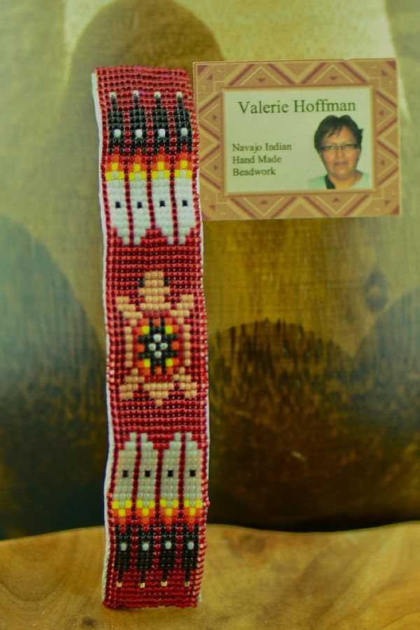 Native American Beaded Turtle Barrette by Valerie Hoffman