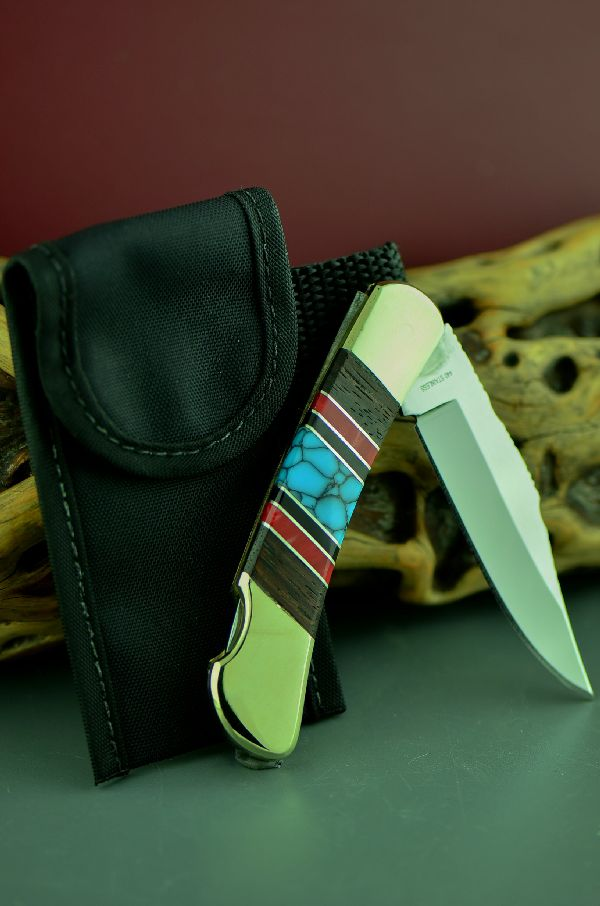 Cherokee Knives Custom Inlaid