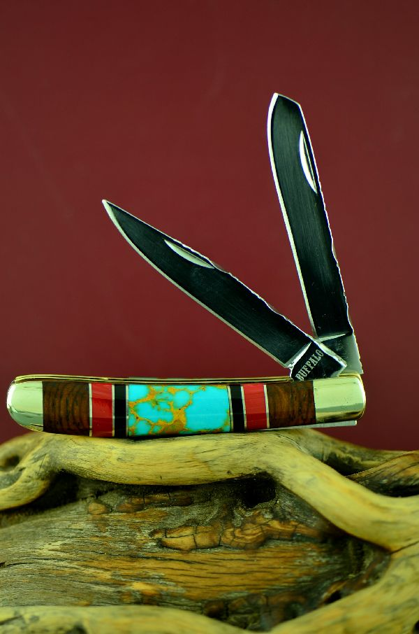 Turquoise Jack Knife Native American