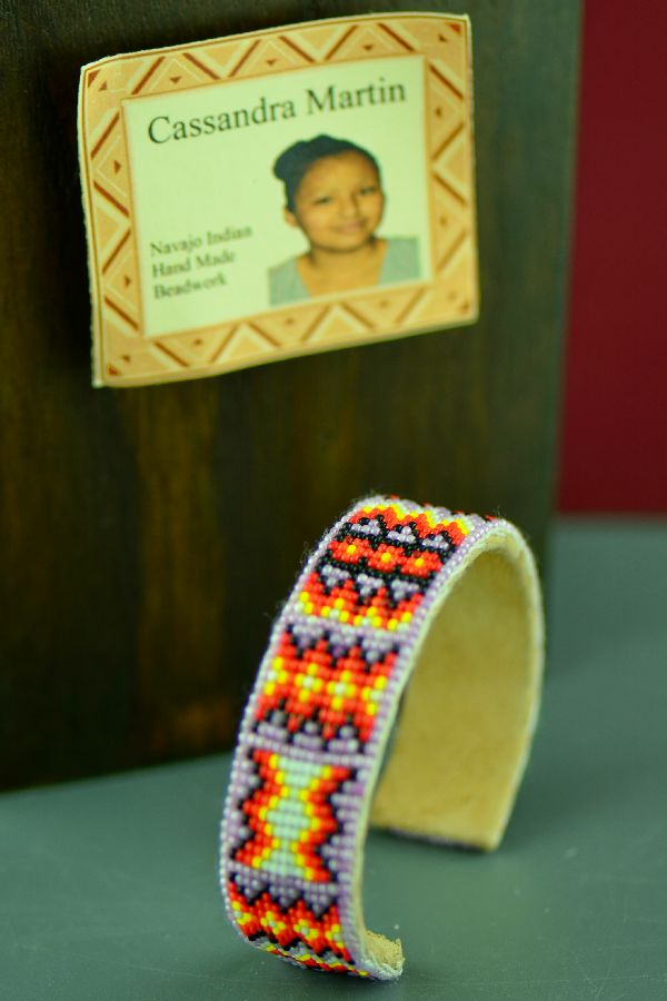 Native American Beaded Bracelet by Cassandra Martin