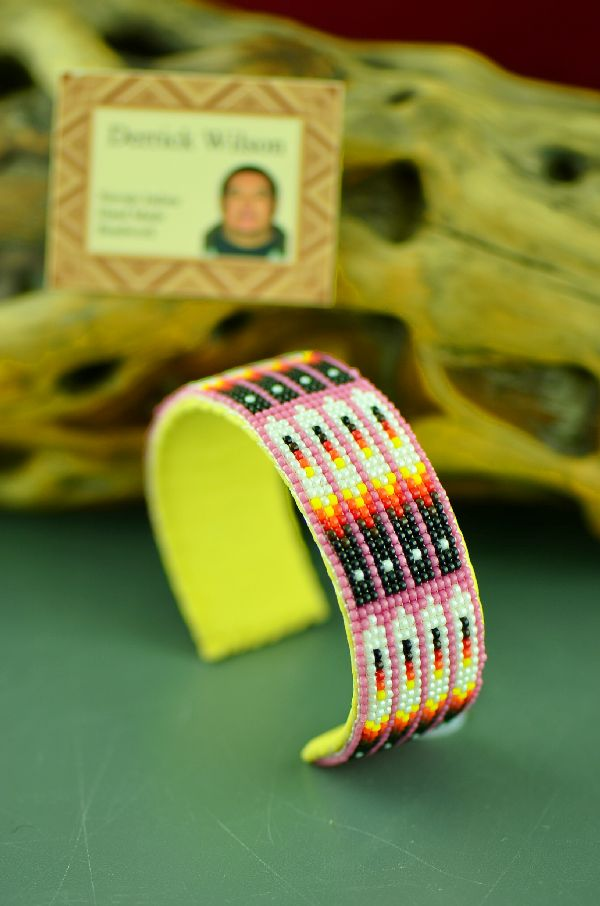 Authentic Native American Beaded Bracelet by Derrick Wilson