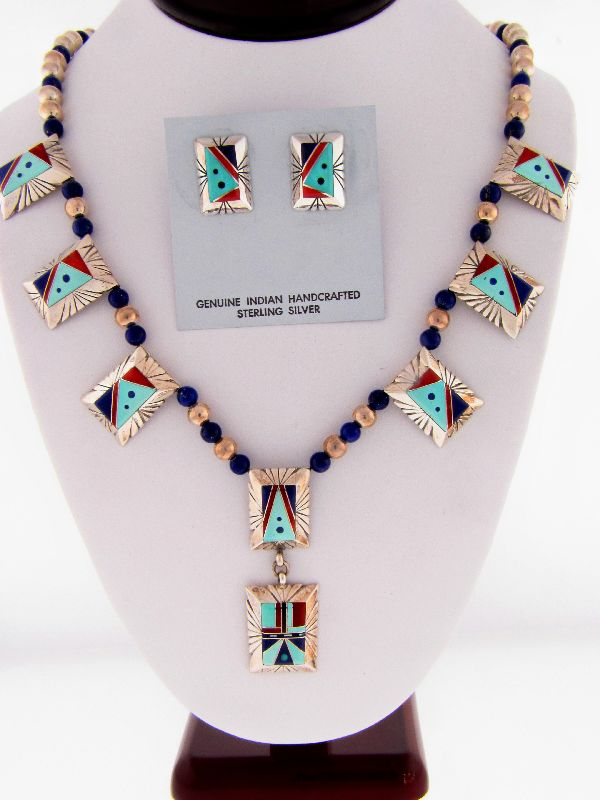 Navajo Inlaid Necklace