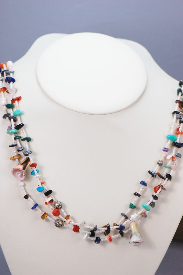 Santo Domingo – 3 Strand Mish Mash Necklace