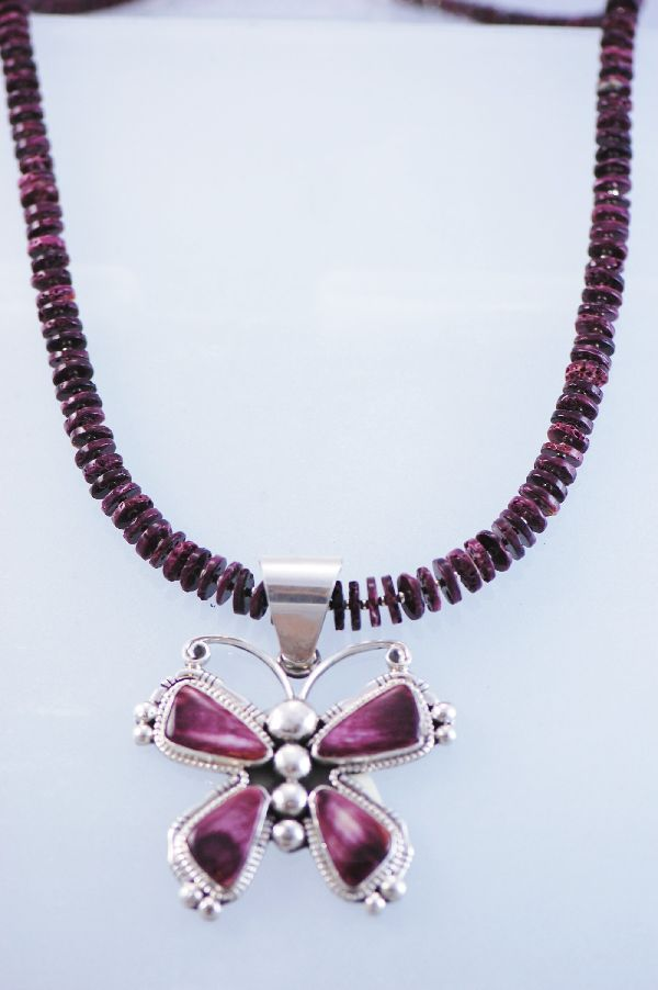 graduated disc bead necklace