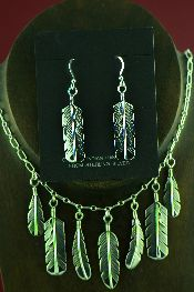 Native American All Silver Necklaces Jewelry
