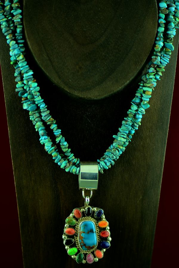 Lucy Cayatineto Cluster Necklace