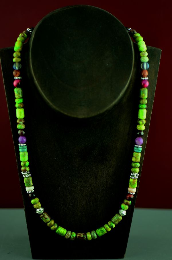 Rosita Singer Gaspeite Necklace