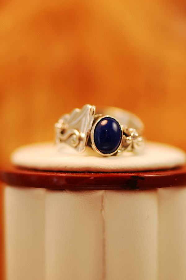 Southwest Lapis Ring