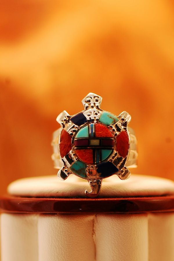 Native American Turtle Ring