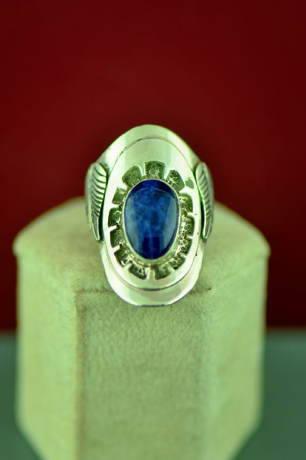 Will Denetdate Ladies Lapis Ring