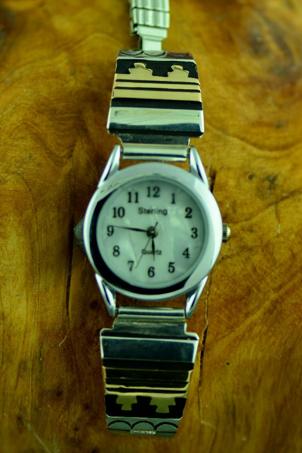 Tommy Singer Gold and Silver Mountain Watch
