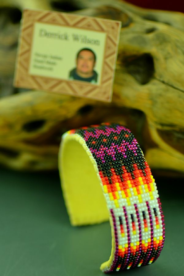 Authentic American Indian Beaded Bracelet by Derrick Wilson