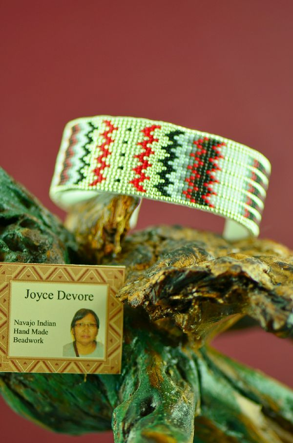 Authentic Navajo Beaded Bracelet by Joyce Devore