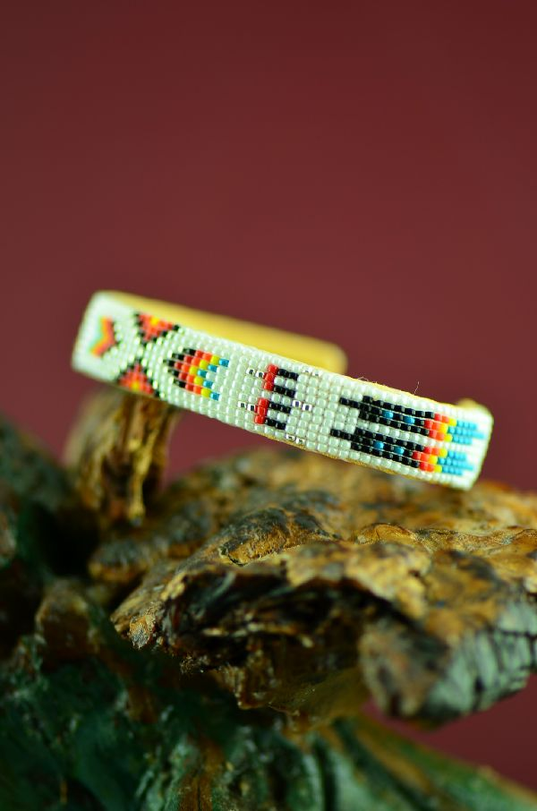 American Indian Beaded Bracelet by Theresa Hunt