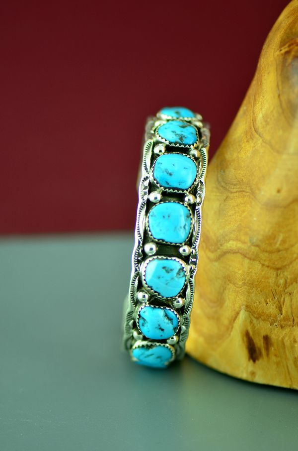 village bracelet jewlelry sterling indian products silver turquoise navajo