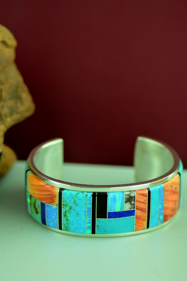 Inlaid American Indian Bracelets