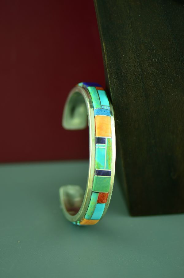 High Quality Navajo Inlaid Bracelet