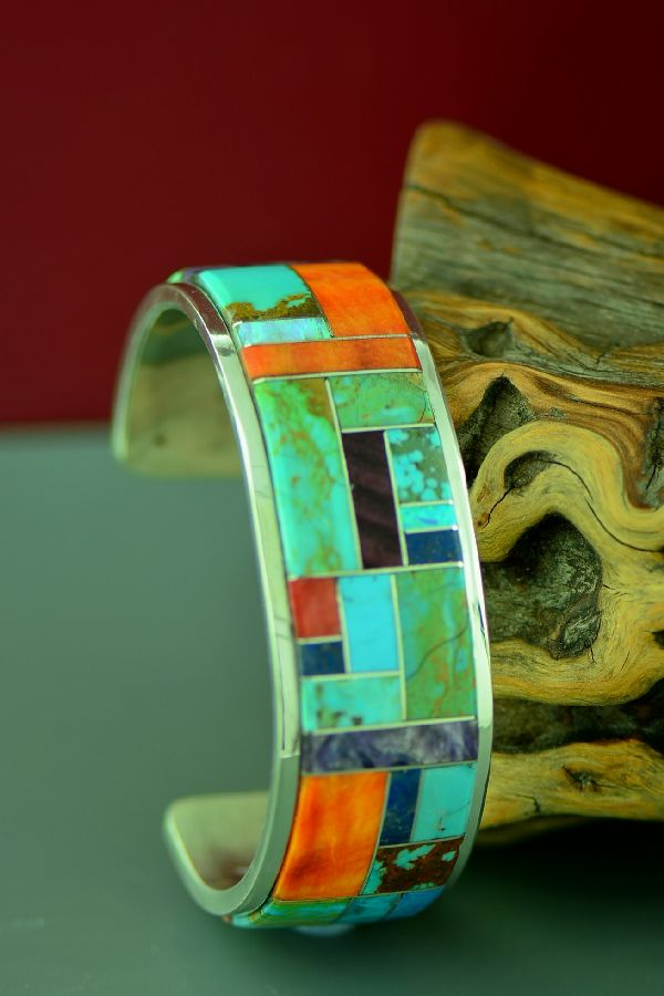 Lucy Cayatineto High Quality Inlaid Bracelet
