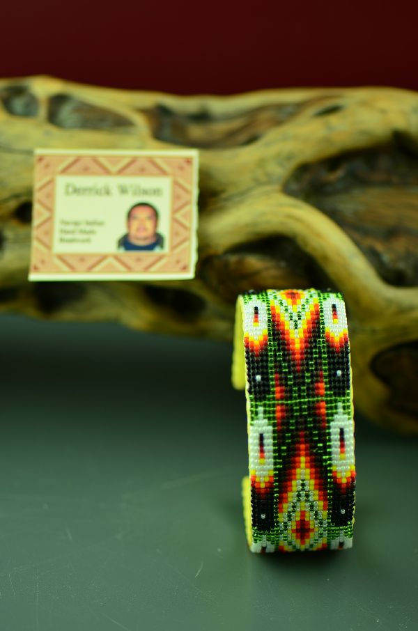 Navajo Beaded Bracelet by Derrick Wilson