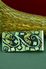 Native American Gold Money Clips Jewelry