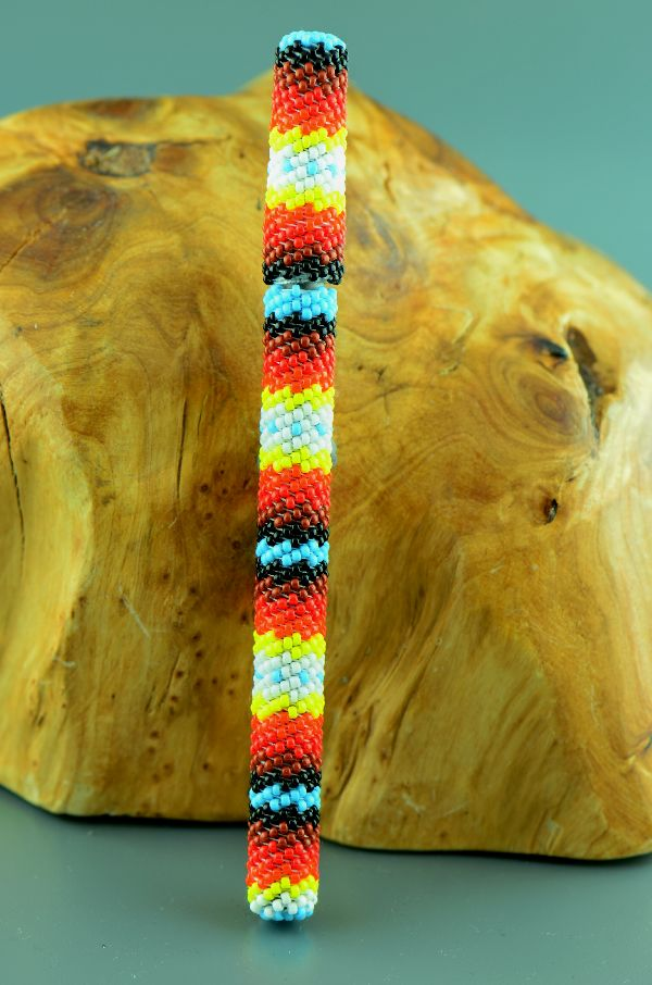 Navajo – Multi-Colored Beaded Pen by Sylvia Spencer