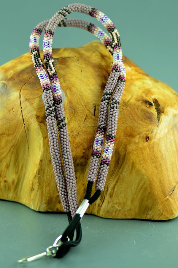 Authentic American Indian Lanyard Beaded