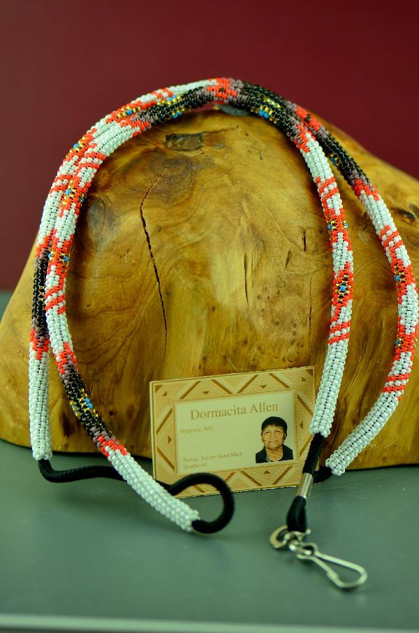 Dormacita Allen Traditional Beaded Lanyard