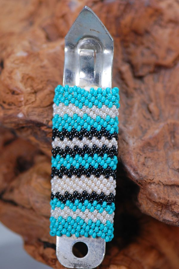 Navajo � Multi-Colored Seed Bead Can Opener